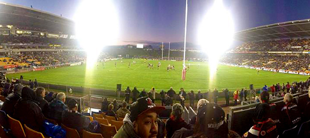 Soak in the atmosphere of a fan-filled stadium