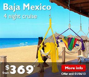 4 Night Baja Mexico Cruise on the Carnival Imagination