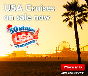 USA Cruises on sale now