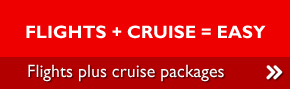 Flights + Cruise = Easy - Flights plus cruise packages