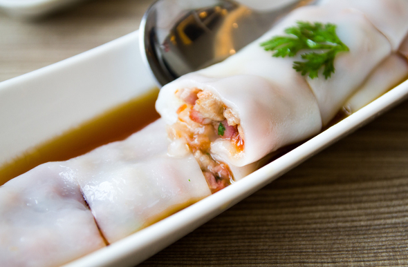 Rice noodle roll Hong Kong