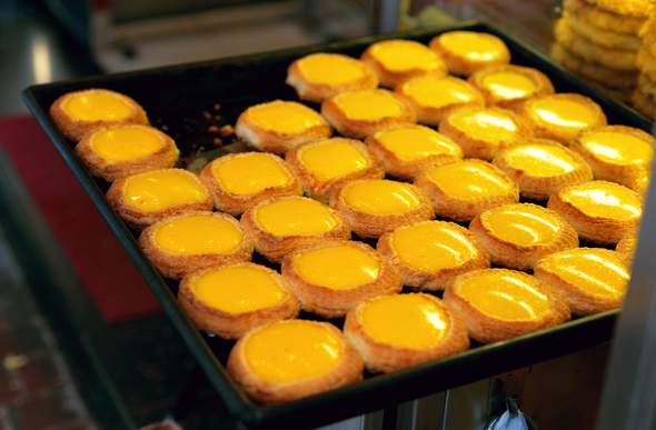 Egg custard tart Hong Kong