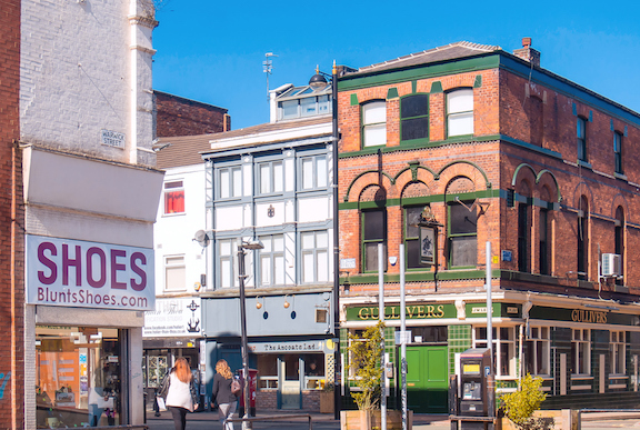 Manchester's Northern Quarter - old meets new with plenty of bars and restaurants. Picture: Getty Images