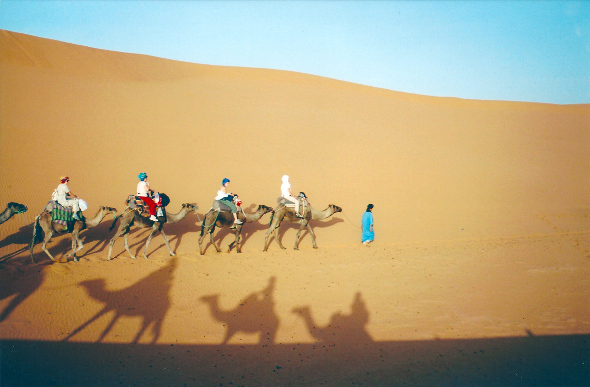 A Most Mythical Of Routes Through The Saharan Desert