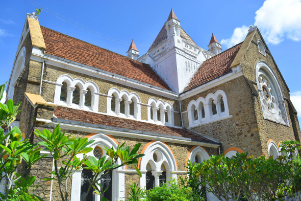 Dutch architecture in Galle Fort