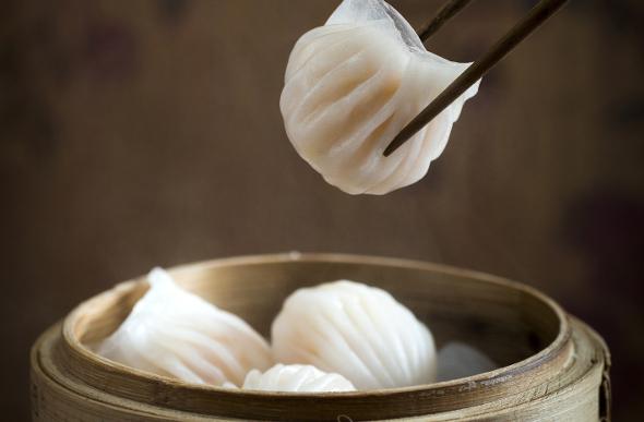 Har Gow dumplings Hong Kong