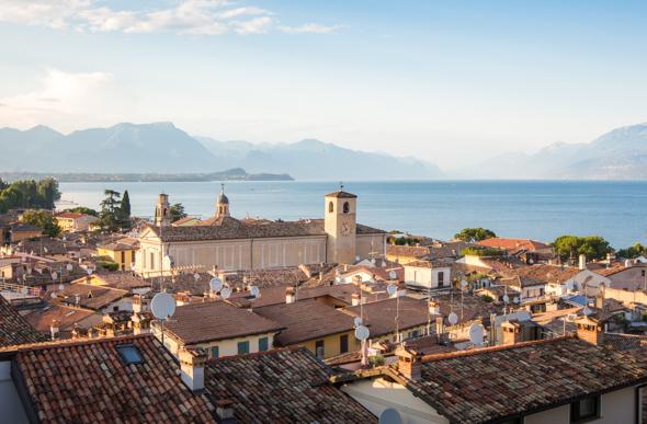 View from Castello di Desenzano