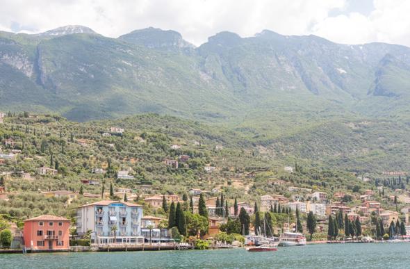 View from Lake Garda cruise
