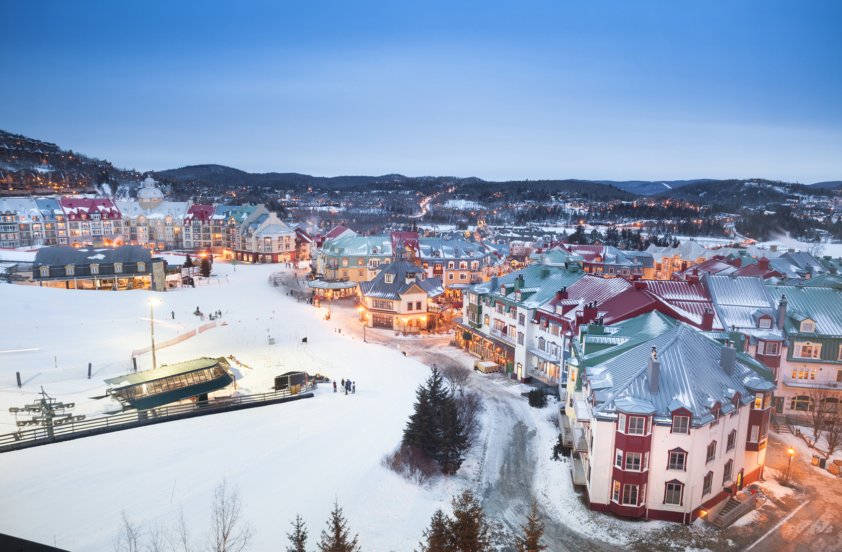 The picturesque village of Mont Tremblant