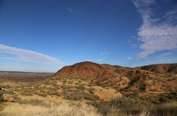 Views from Larapinta Trail NT