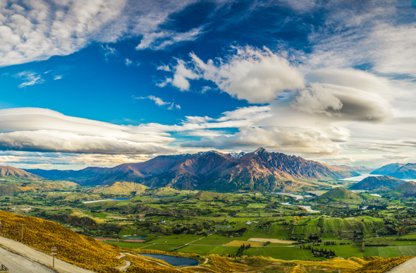 The Remarkables in spring