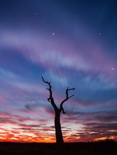 Sunset in Queensland