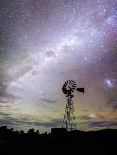 Queensland starry night