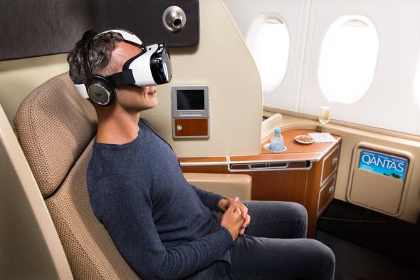 Qantas & Samsung Unveil Virtual Reality Experience