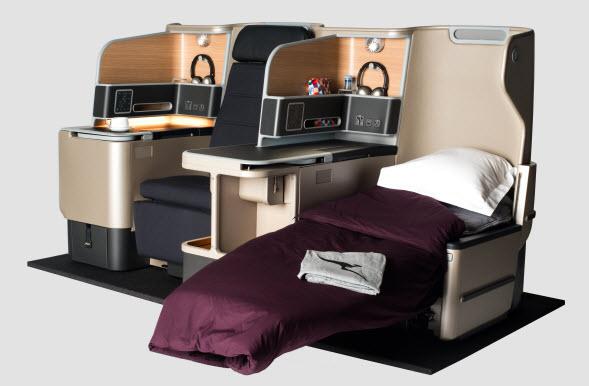 Qantas' Business Suites