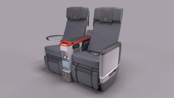 New Premium Economy Seats For Singapore Airlines