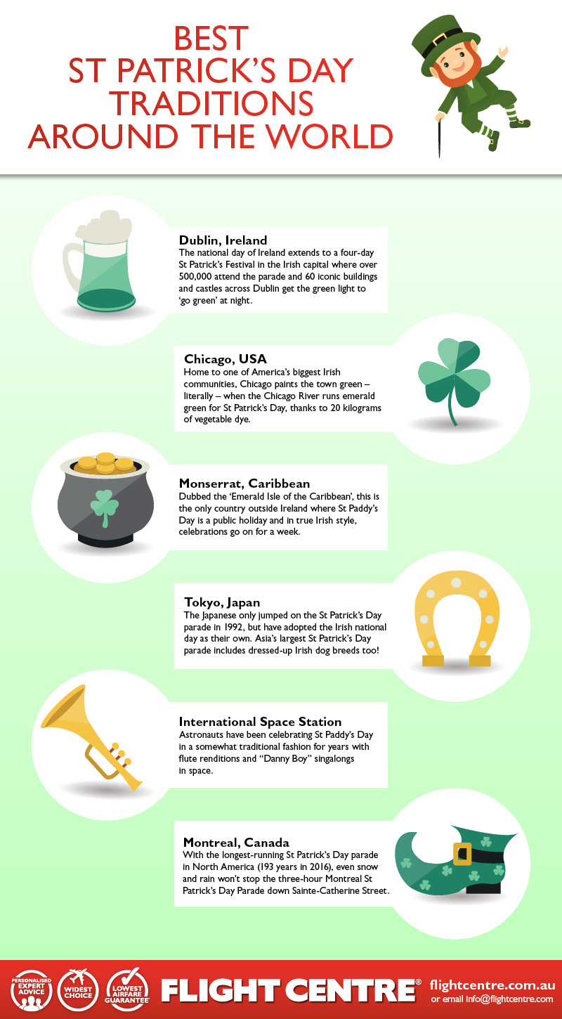 12962e929b4 Pack your best kelly green gear and plenty of craic, here's some of the  countries around the world with the best St Patrick's Day traditions, to be  sure!