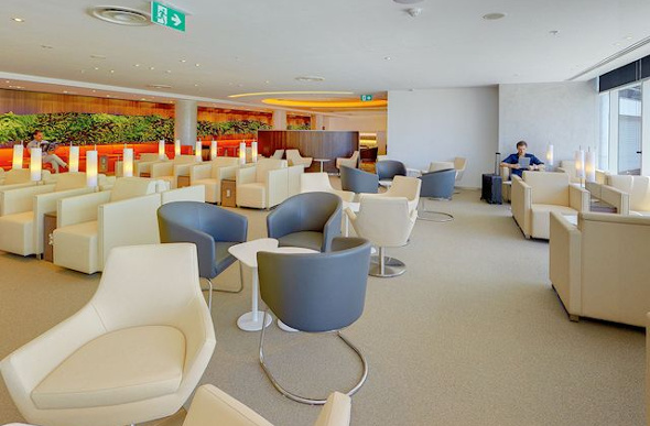 The SkyTeam Lounge