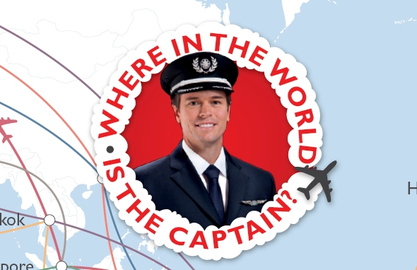 Where In The World Is The Captain?