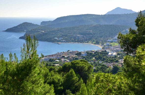 A view of Aegina