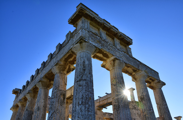 The 2,500-year-old Temple of Aphaia