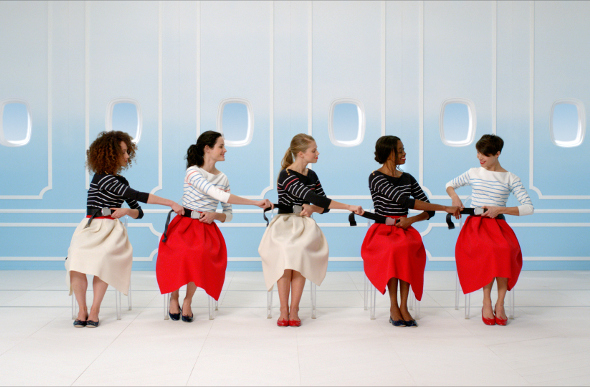 Air France Releases Classically French In-Flight Video