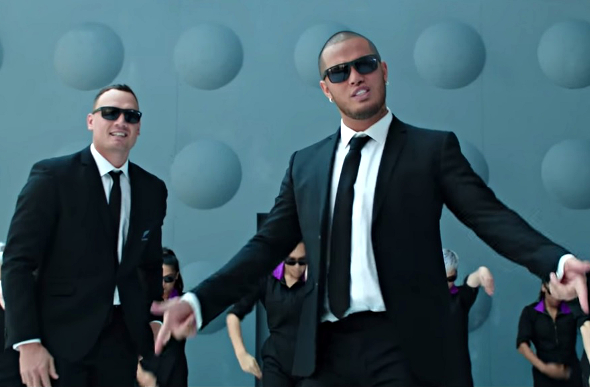 "Air New Zealand Releases New ""Men In Black"" Safety Video"