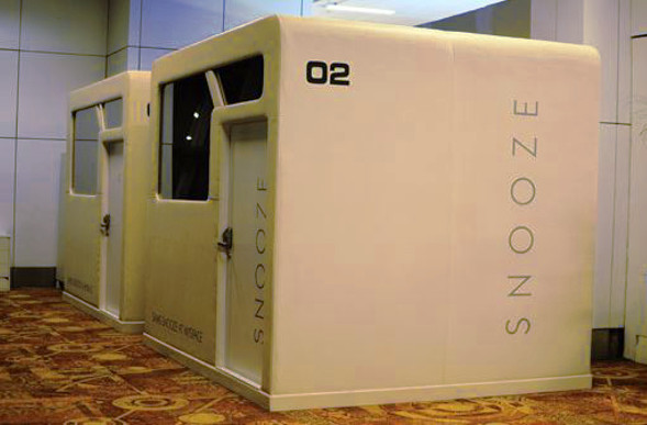 top 8 airport sleeping pods. Black Bedroom Furniture Sets. Home Design Ideas