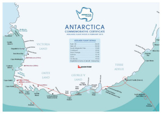 Antarctica Flight Review & Images on