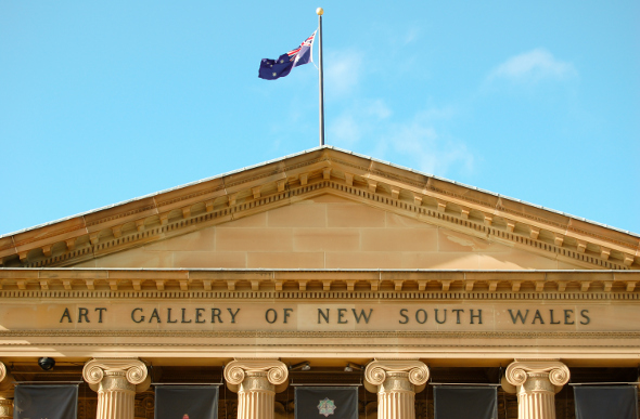 The Art Gallery of New South Wales in Sydney, Australia.