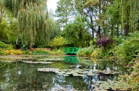 Monet's Bridge in Giverny