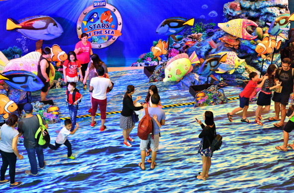 Siam Ocean World in Bangkok, Thailand, is one of Asia's best aquariums. Picture: Ronan O'Connell