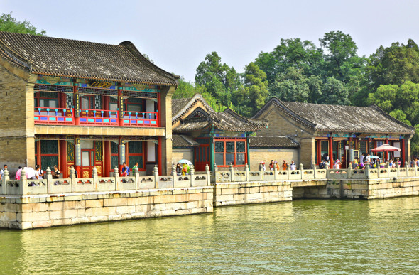 Relax by the lake at Beijing's Summer Palace.