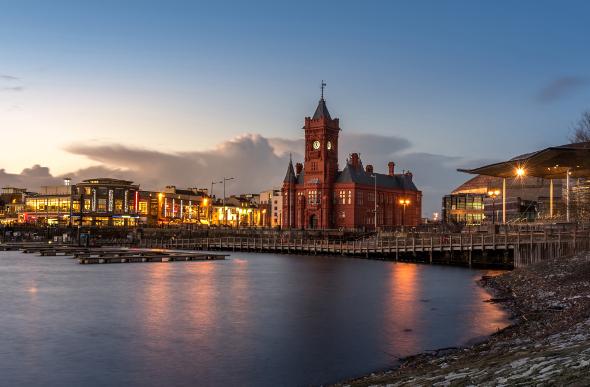 Cardiff dock