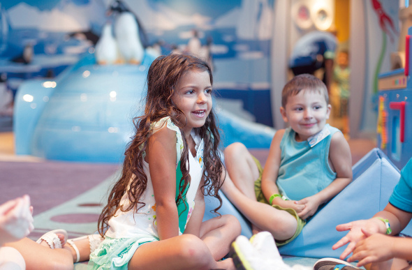 Kids club on Carnival Cruise Lines