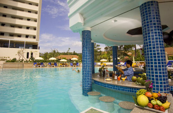Raise Your Glass To A Swim Up Pool Bar