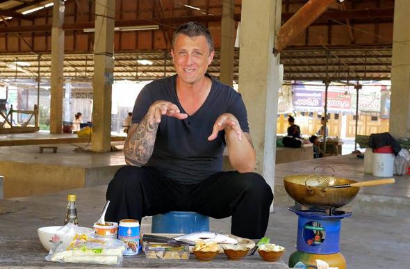 Celebrity Traveller: Chef Duncan Robertson