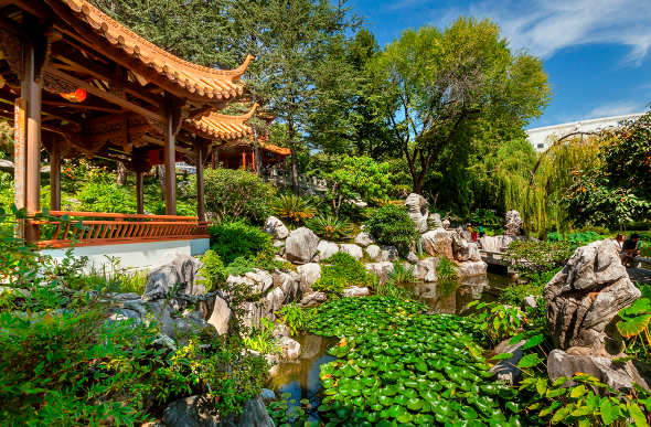 Sydney S Chinese Garden Plays A Starring Role In The Wolverine