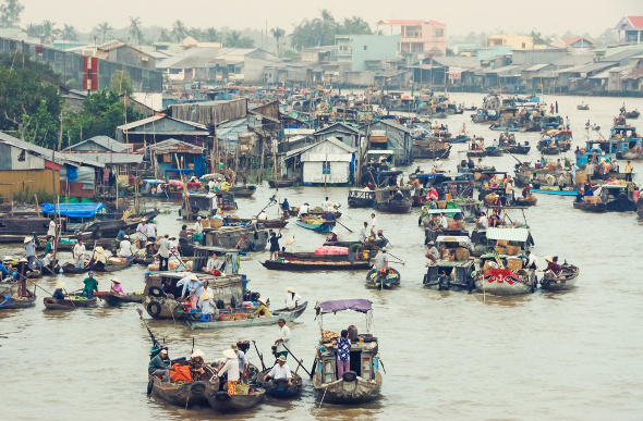 Cai Be Floating Markets