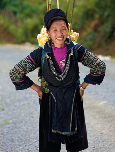 A local Vietnamese woman