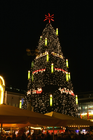 Image result for 45 metres dortmund christmas tree