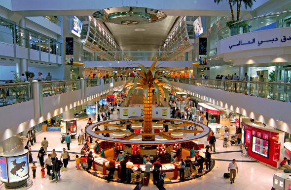 Dubai International Airport, UAE, United Arab Emirates