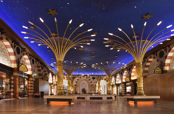 The interior of Dubai Mall.