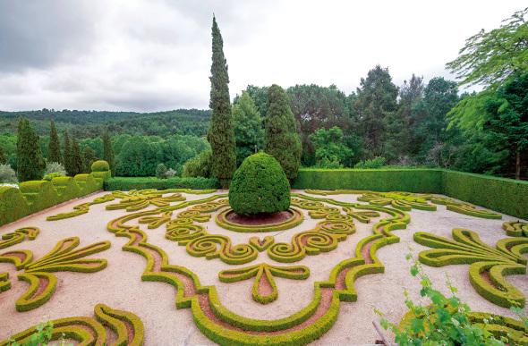 Gardens at Casa de Mateus