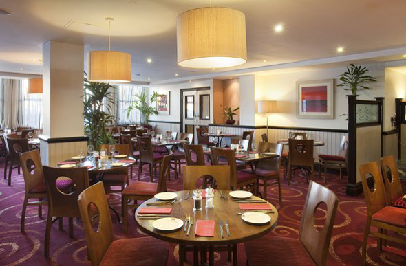 A humble restaurant at Jurys Inn Edinburgh