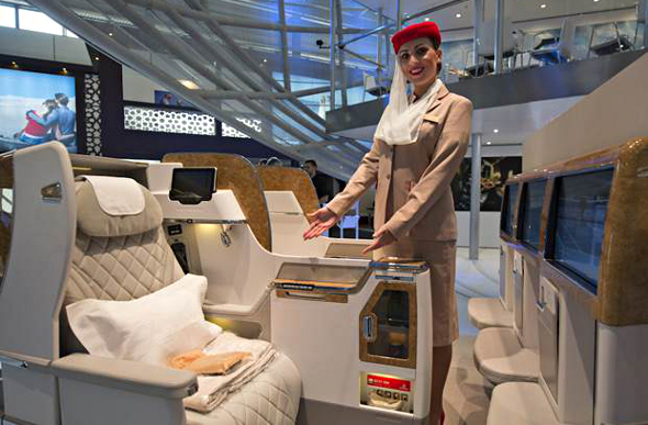 Emirates new Business Class seat