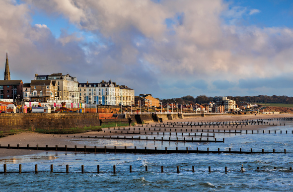 England coastline