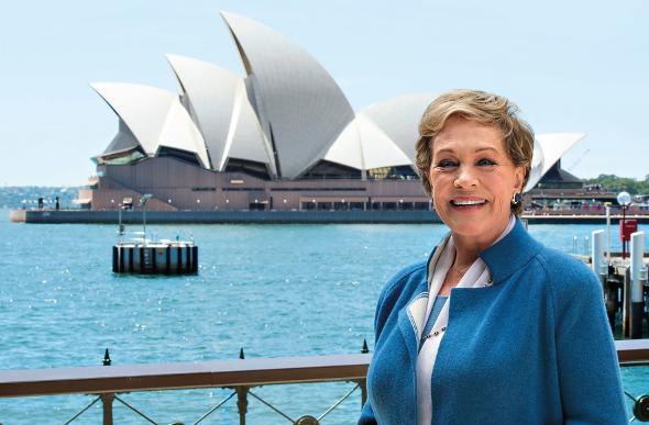 Julie Andrews in Sydney
