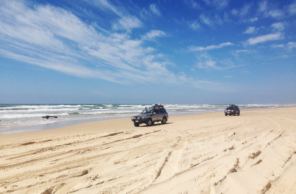 Up To My Axels In Adventure On Fraser Island