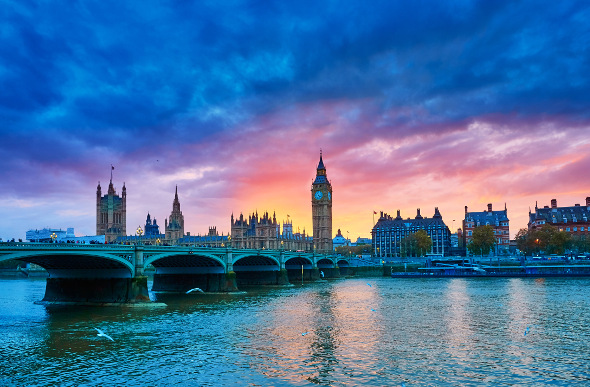The Thames and Big Ben make a glorious portrait of London.